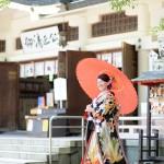 熊本,和装,洋装,前撮り,結婚式当日,,加藤神社03
