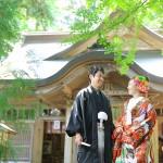 宮崎 高千穂和装前撮りプラン-高千穂神社