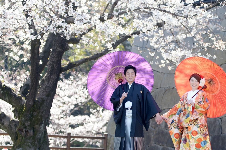 熊本 熊本城前撮りプラン