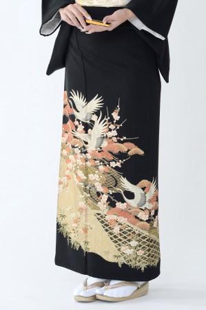 福岡黒留袖KT-3519