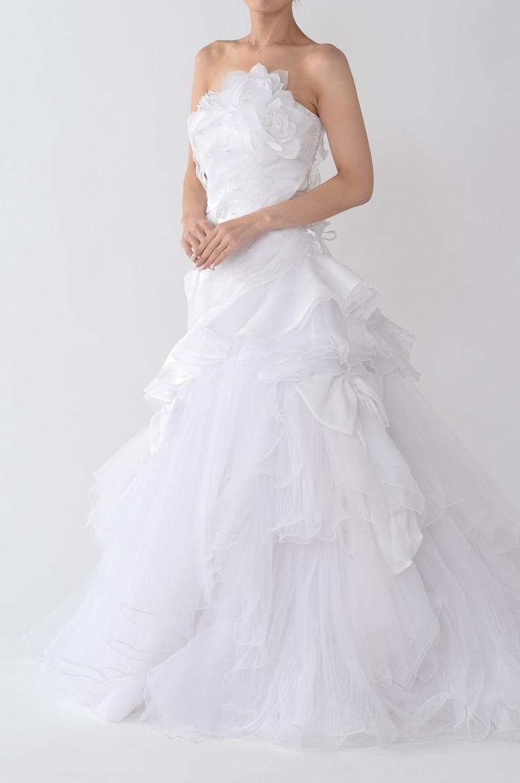 熊本店ウェディングドレス KW-003