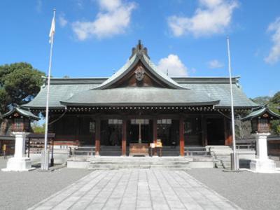 熊本,八代宮