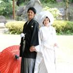 鹿児島,和装,洋装,前撮り,結婚式当日,,玉里邸和装前撮り1