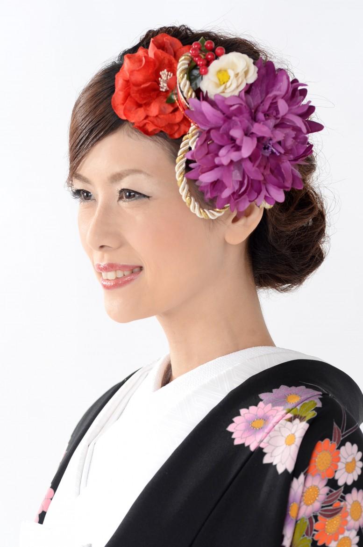 花嫁和装髪型3