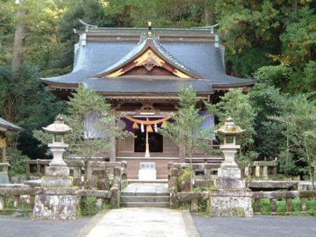 宇奈岐日女神社 大分 湯布院
