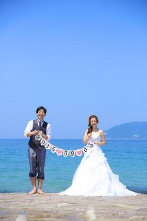 早朝海ロケーション 10,000円割引キャンペーン-福岡・熊本 海ロケーション ドレス13