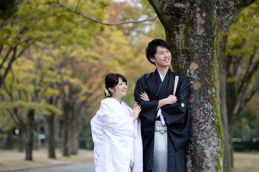 熊本城 和装 前撮り