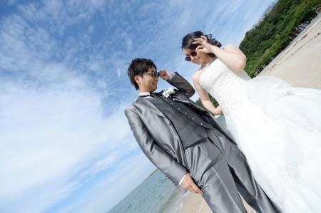 早朝海ロケーション 10,000円割引キャンペーン-福岡・熊本 海ロケーション ドレス01