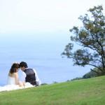 福岡,和装,洋装,前撮り,結婚式当日,,能古島008
