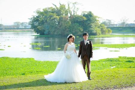 熊本 江津湖前撮りプラン-江津湖