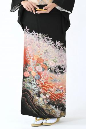 鹿児島店黒留袖KAKT-002