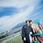 鹿児島,宮崎,和装,洋装,前撮り,結婚式当日,,スタジオフィール 鹿児島