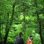 宮崎 高千穂和装前撮りプラン-高千穂峡