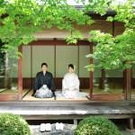 福岡,和装,洋装,前撮り,結婚式当日,,前撮り・大濠公園・日本庭園