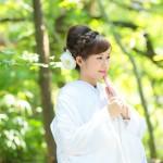 熊本,和装,洋装,前撮り,結婚式当日,,加藤神社