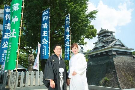 熊本店・神社前撮りプラン-加藤神社
