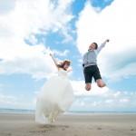 宮崎,和装,洋装,前撮り,結婚式当日,,宮崎 青島神社 海 スタジオフィール