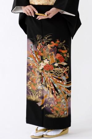 鹿児島店黒留袖KAKT-008