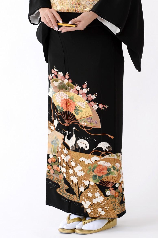 福岡黒留袖KT-520