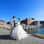 北九州,和装,洋装,前撮り,結婚式当日,,北九州 門司港レトロ スタジオフィール