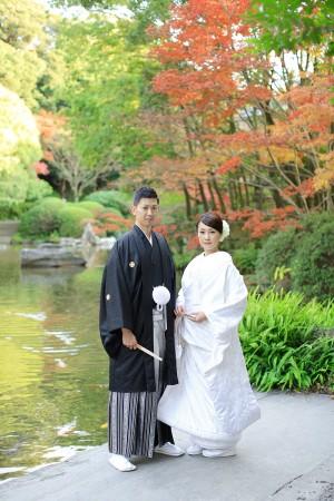 福岡 日本庭園前撮りプラン-