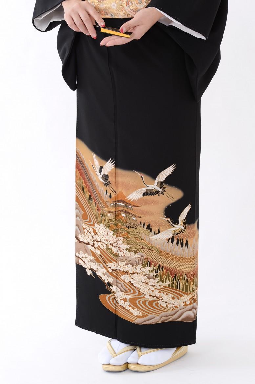 鹿児島店黒留袖KAKT-021