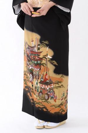 鹿児島店黒留袖KAKT-422