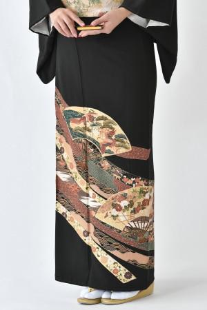 鹿児島店黒留袖KAKT-024