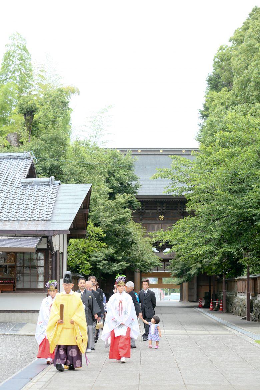 熊本 健軍神社 神社挙式