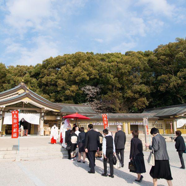 福岡 スタジオフィール 福岡縣護国神社 神社挙式