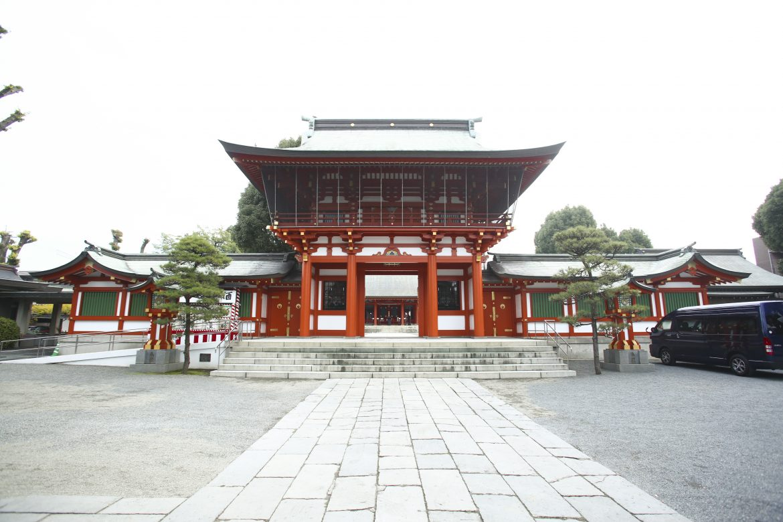 熊本 神社挙式 藤崎宮