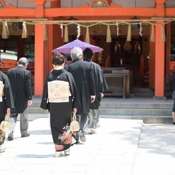福岡 住吉神社 神社挙式 神前挙式 スタジオフィール