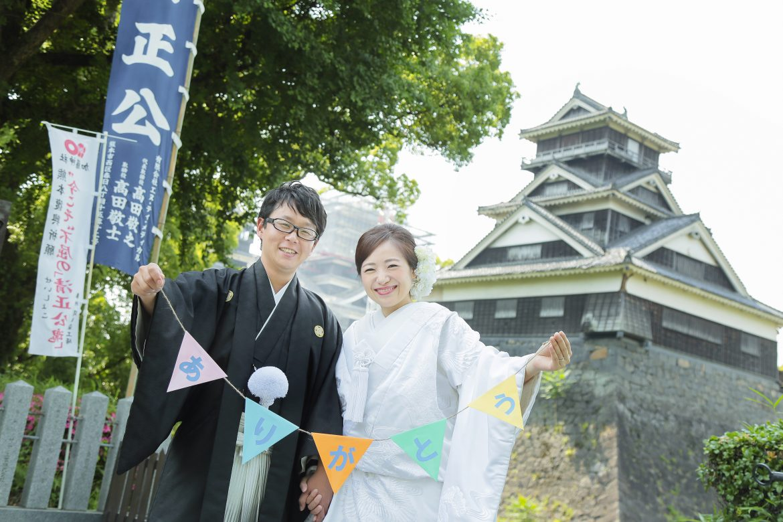 熊本 熊本城 復興 前撮り スタジオフィール