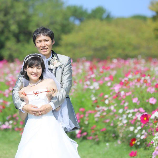 福岡,和装,洋装,前撮り,結婚式当日,,海ノ中道海浜公園
