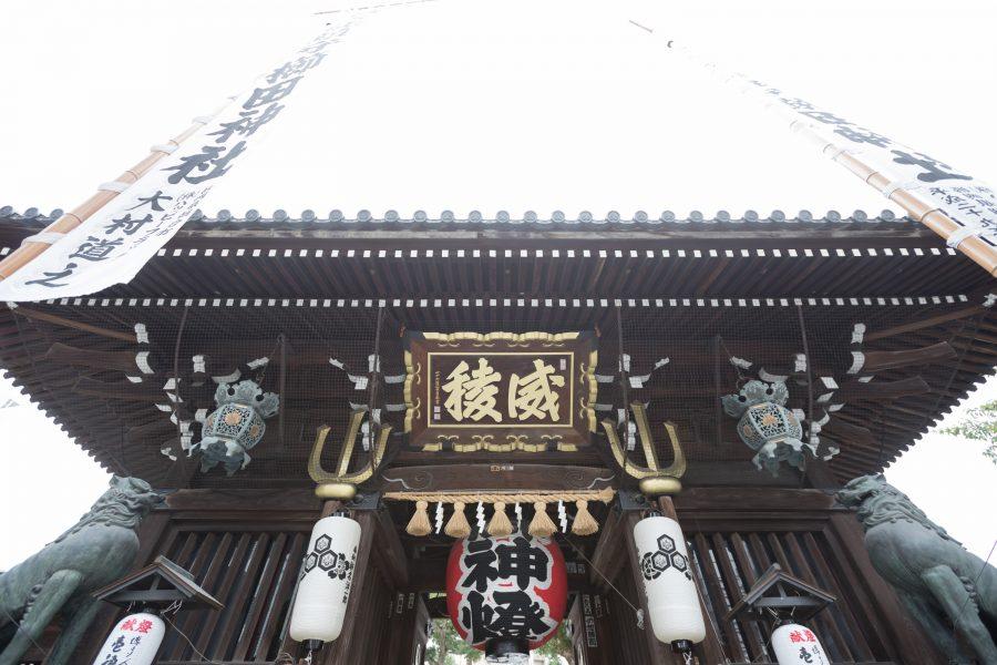 福岡 櫛田神社 スタジオフィール 神社挙式