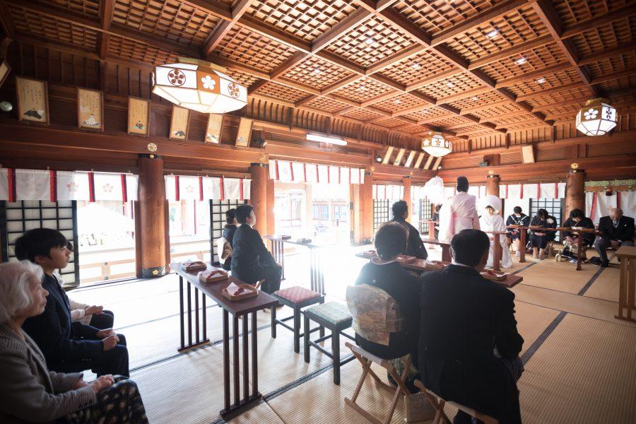山口県 防府天満宮 神社挙式 スタジオフィール