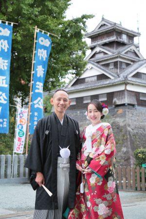 熊本城 加藤神社 神社挙式 スタジオフィール