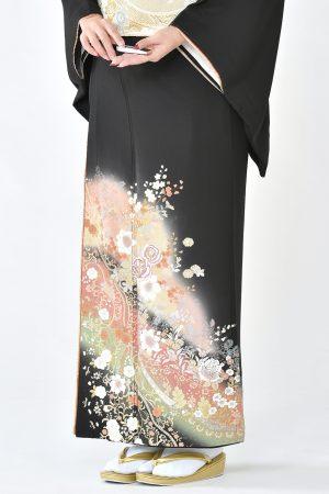 福岡黒留袖KT-3001