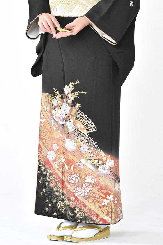 福岡黒留袖KT-3004