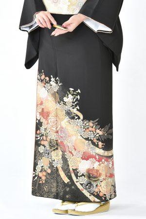 福岡黒留袖KT-3007