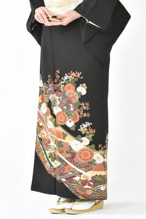 福岡黒留袖KT-014