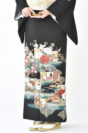 福岡黒留袖KT-5015