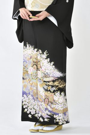 福岡黒留袖KT-020