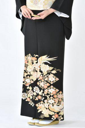 福岡黒留袖KT-3529