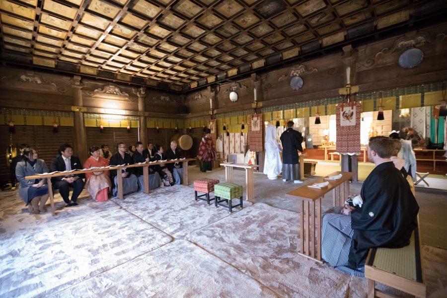 福岡 久留米 高良大社 神社挙式 スタジオフィール