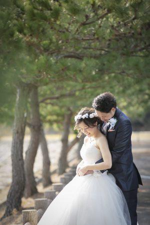 熊本 御立岬公園ドレス前撮り スタジオフィール