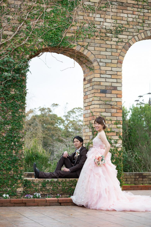 海の中道 菜の花 ドレス 前撮り 結婚式 スタジオフィール 花畑