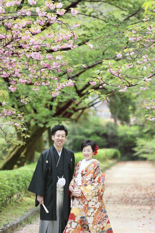 熊本城 和装前撮り スタジオフィール 婚礼