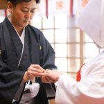 熊本 健軍神社 神社挙式 桜 和装 白無垢 スタジオフィール