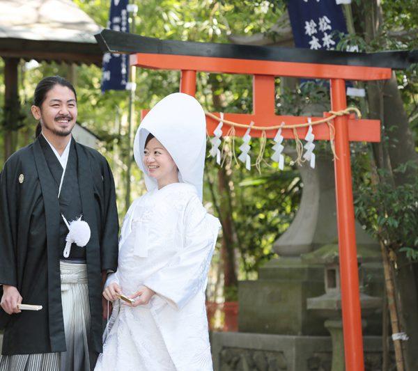 熊本 加藤神社 神社挙式 和装 白無垢 スタジオフィール